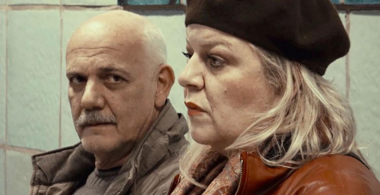 Image result for Το παγκάκι» με τον Γιώργο Κιμούλη και την Φωτεινή Μπαξεβάνη